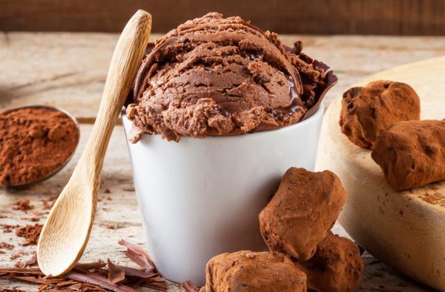 Glace maison au chocolat - Photo par delice en cuisine