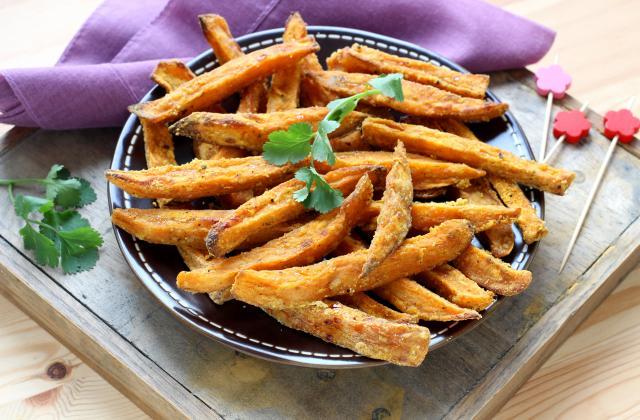 Frites de patate douce - Photo par Silvia Santucci