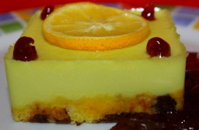 Tartelettes au citron carrées - Photo par laurenIPd