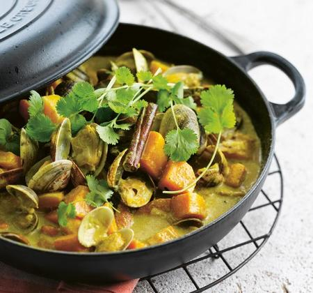 Curry de coquillages - Photo par Le Creuset