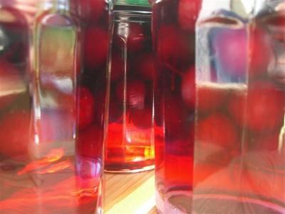 Cerises à l'eau de vie - Photo par isabelV7T