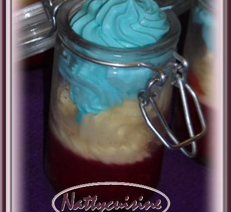 Verrine du 14 juillet - Photo par Nattycuisine