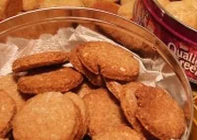 Biscuits maison à base de céréales - Photo par mimilafee