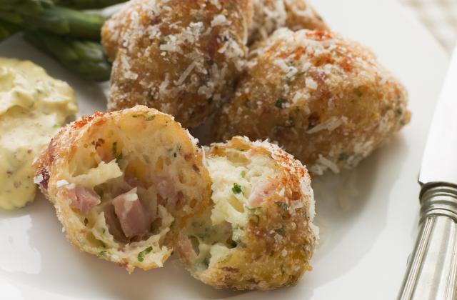 Croquettes au jambon et fromage - Photo par 750g
