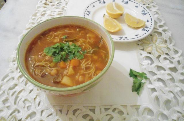Chorba aux légumes 'soupe' - Photo par DALILA34