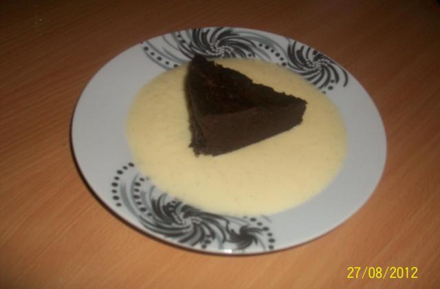Gâteau au chocolat rapide au micro-ondes - Photo par wookie