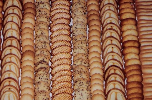Présentation de gâteaux secs - Photo par Maurice.B