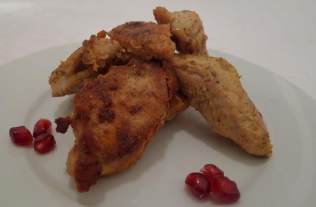 Blanc de poulet ambré au curry - Photo par loulou8587