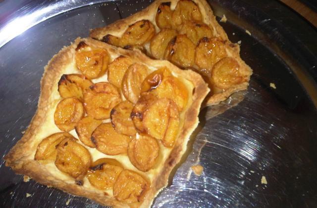 Tarte mirabelles pain d'épices - Photo par Millie Bé
