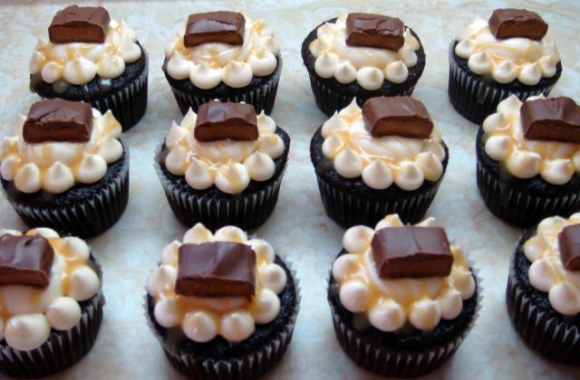 Cupcakes au Mars - Photo par jameneledessert