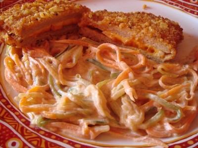 Spaguetti courgettes carottes - Photo par vaheda
