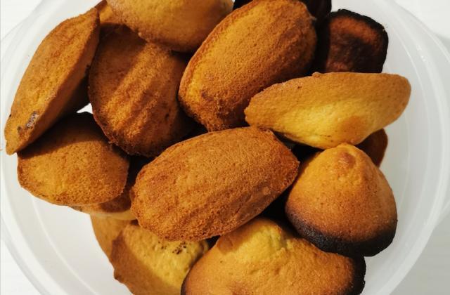 Madeleines au citron très faciles - Photo par liontux