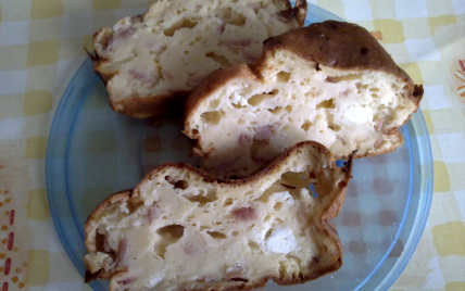 Cake au jambon et fromage - Photo par stephay3