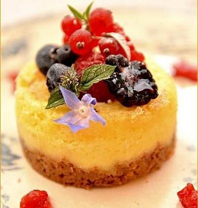 Cottage Cheese Cake aux fruits rouges - Photo par Chef Damien