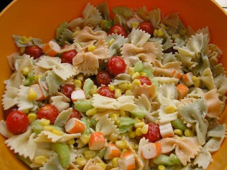 Salade de pâtes classique - Photo par sisi76