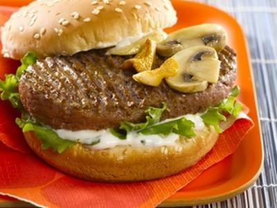 Hamburgers kebab à la forestière et au piment doux - Photo par refval