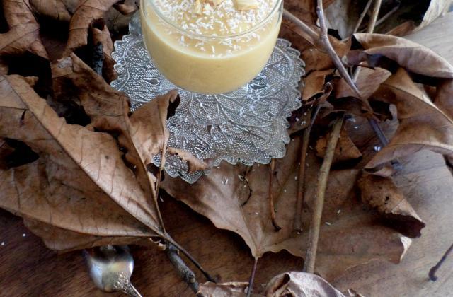 Soupe de potiron, beurre de cacahuète et lait de coco - Photo par La petite cuisine de Sabine