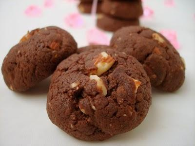 Cookies aux amandes et au chocolat - Photo par fimere2