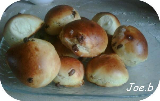 Petits pains au lait et pépites de chocolat - Photo par yysjoeleo