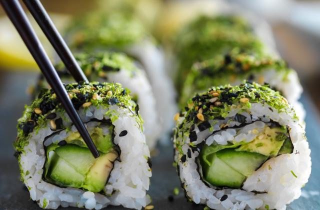 10 idées d'ingrédients à glisser dans ses sushis végétariens - Photo par 750g