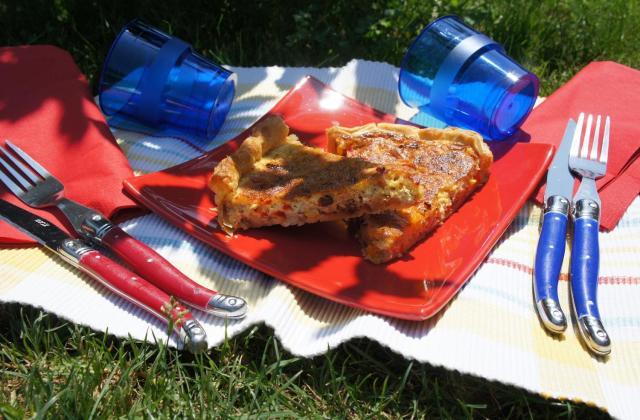 Quiche mexicaine - Photo par le book gourmand