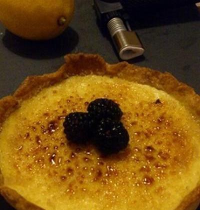 Tarte au citron brûlée - Photo par Claire C.