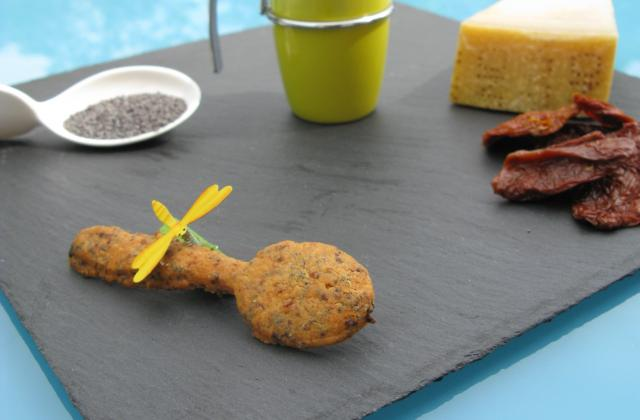 Cuillères parmesan chorizo de lili - Photo par Lili
