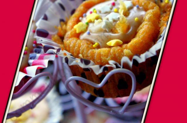 Cupcake au Kaki et crème de marrons - Photo par makeup1