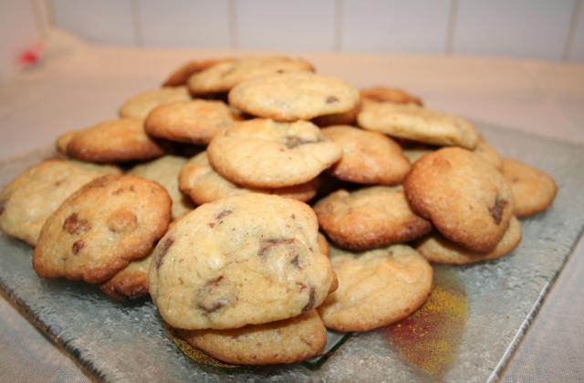 Cookies aux 2 chocolats maison - Photo par melaniM2g