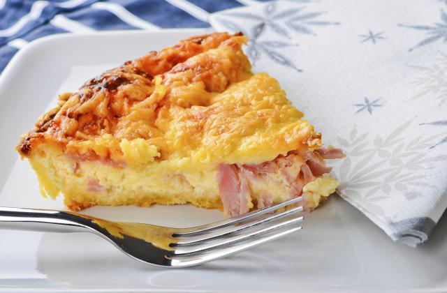 Quiche au jambon - Photo par Chef Damien
