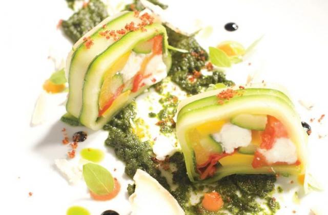 Pressé de légumes du soleil au Chavignol - Photo par AOC Chavignol