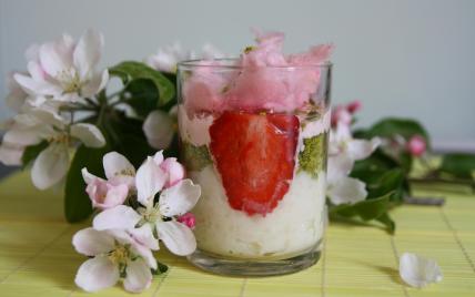 Riz au lait en verrine - Photo par Parmesan et Paprika