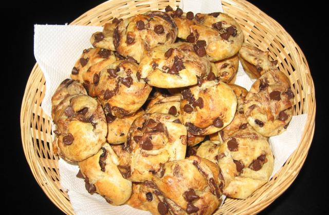 Chouquettes au chocolat classiques - Photo par celine8z