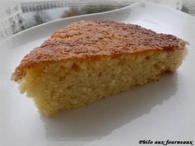 Gâteau fondant à la noix de coco - Photo par jujuni
