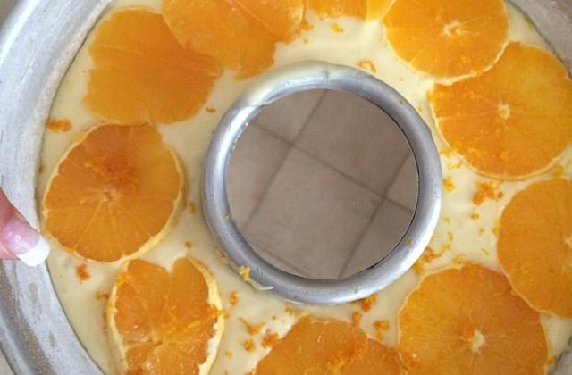 Gâteau à l'orange et aux petits-suisses - Photo par thibauusu