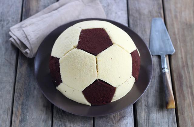 Gâteau ballon de foot - Photo par 750g