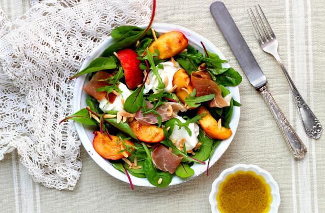 5 salades qui mêlent avec délice fromage et fruit - Photo par Silvia Santucci