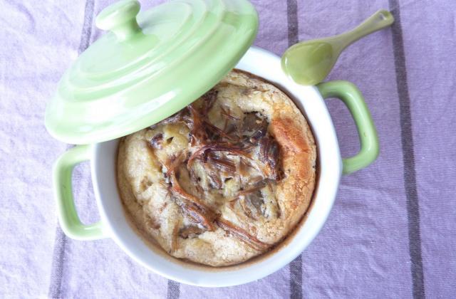 Clafouti aux cèpes, confit de canard et Boursin 3 poivres - Photo par beltran