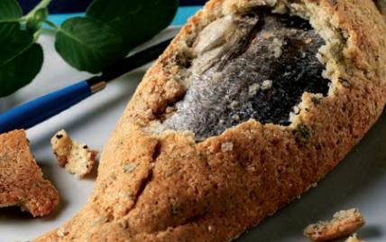 Dorade en croûte de sel version exotique - Photo par Cuisines en Fête