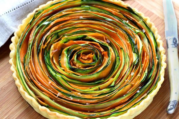 5 tartes végétariennes au joli look - Photo par 750g