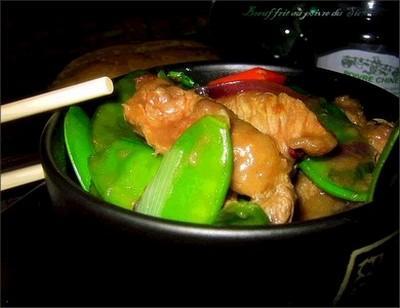 Boeuf frit au poivre de Sichuan - Photo par bienvenu_chez_lorenza