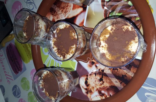 Tiramisu revisité au Nutella  - Photo par Bacha
