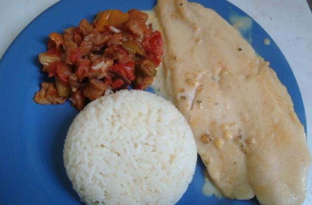 Pangas à la crème de curry - Photo par valerie.vessella