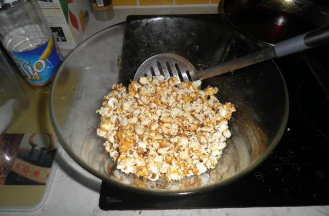 Pop corn en fête - Photo par massep