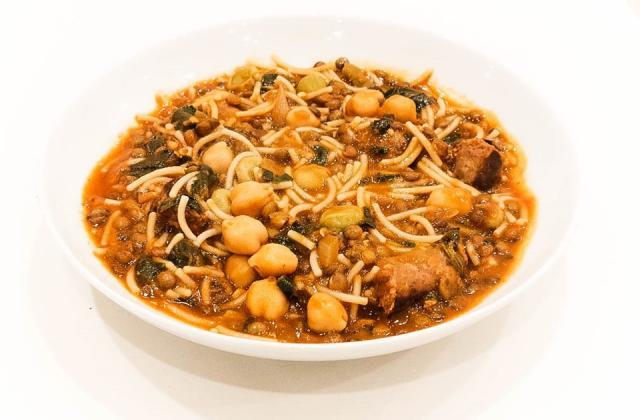 Hlalem aux merguez (soupe tunisienne) sans gluten - Photo par La  Table des Intolérants
