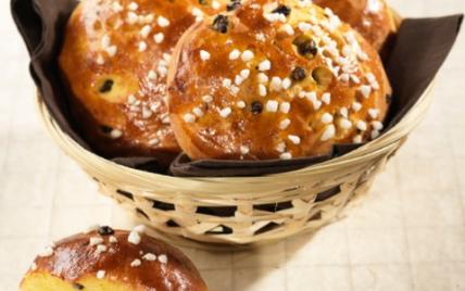 Petits pains aux épices et à la fleur d'oranger - Photo par Francine