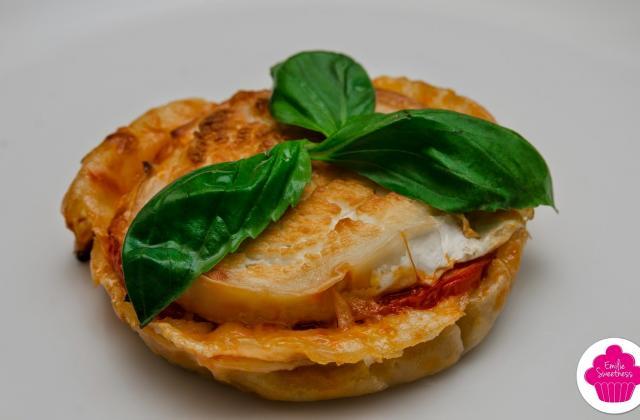 Tartelettes tomate chèvre basilic - Photo par emigir