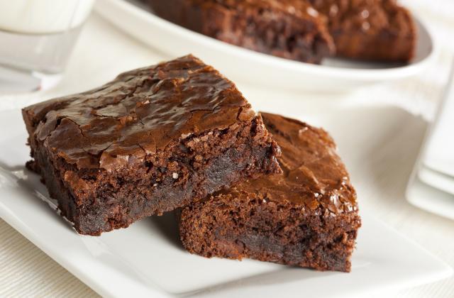 Brownie au chocolat noir - Photo par dsotin