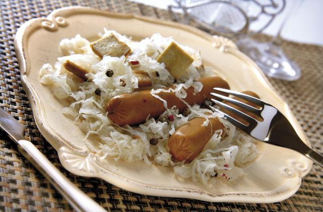 Choucroute au tofu - Photo par Soy