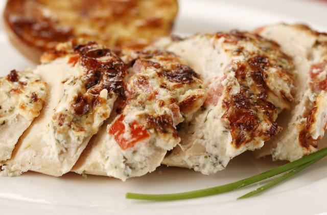 Blancs de poulet aux saveurs méditerranéennes - Photo par Amora